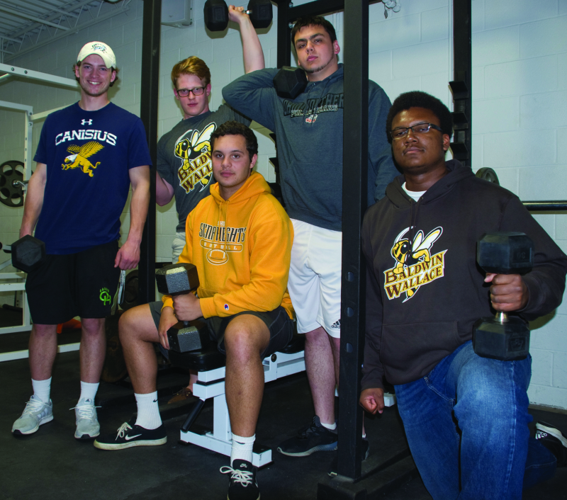 Weight Training Program Producing Results On And Off The Field